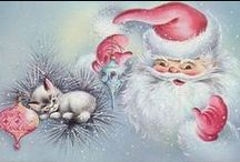 Christmas - Vintage Cards / by Gail Power