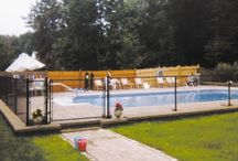 Chain Link Fence / Chain Link fencing offers a practical and economical way to keep your pool and yard safe and private for your family and pets.