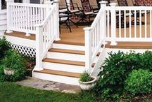 Benchmark Railing Systems / You'll find that easy-to-install Benchmark Vinyl Railing features many options for your rails and pickets that allow for the appearance of millwork without the maintenance of wood. Designed for the professional contractor or do-it-yourselfer, all Benchmark Vinyl Rail comes with a transferable limited lifetime warranty.   Some images appear courtesy of Kroy© Building Products.