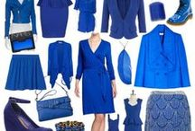 Blue Fashion & Accessories  / High Fashion (Women & some Men's), Street Fashion, Shoes, Handbags, Accessories. You get the idea it has to blue, right? / by Désirée