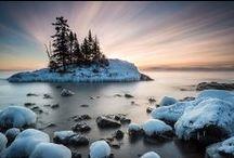 Winter on Minnesota's North Shore / The beauty of a winter on Minnesota's North Shore