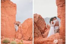 Desert Wedding Locations / Amazing site locations for a desert wedding outside of Las Vegas