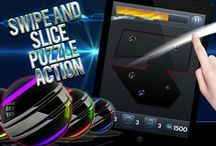Addiction Slice – The Super Addictive Slash, Cut and Swipe Free Puzzle Game / Addiction Slice – The Super Addictive Slash, Cut and Swipe Free Puzzle Game for iPhone and iPad