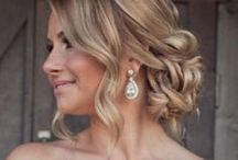 Wedding Hair Styles / Get ideas for hair styles on your #wedding day. #weddinghairstyles
