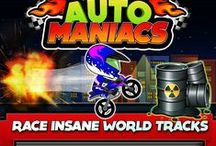 Auto Maniacs iPhone and iPad Game / Coming soon to the appstore, let us know what you think! If you're an app developer or game artist, get in touch with us at www.Risinghigh.net
