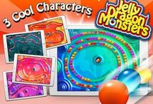 A Jelly Dragon Zumi Game for iPhone and iPad / Dragon Monsters rule in wobbly Jellyland and the survival game is on! Shoot and Match up three or more jelly bombs with your favourite monster firing at the helm in this addictive and fun zumi logic puzzle game.