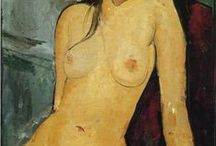 Famous Artists & the female body