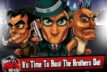 Super Mafia Brothers - New Game for iPhone & iPad / Brucie has his running orders, Da Boss needs busting out of prison, now he needs to go find Knuckles and get to work! Cool endless runner shoot em up IOS game available for iPad and iPhone.