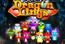 Dragonlings Ultimate Jump Game for iPhone & iPad / Dragonlings are quick, mischievous and lovably bouncy! They are born from the realms of magic and adore being set free to leap, jump and climb as high as the 4 realms will take them.
