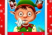 Elf Flu Doctor - Help the frozen Christmas Elves / Elf is feeling miserable and full of Flu, help him get better and visit the Flu Elf Doctor in this cute kiddies Christmas Game for iOS and Android.