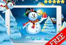 Frozen Snowman Winter Snow Fall / All set to fly high above the snowy land on a snowman mission? Grab your scarf and top hat and come check out some festive frosty fun!
