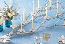 Tischdekoration Winter / winterliche Tischdekoration, Weihnachten vorbei? Frühling noch nicht in Sicht? Schöne Tischdekorationen für die Zeit davor und dazwischen.