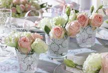 Tischdekoration rosa / Lieblingsfarbe rosa? Hier bist Du richtig.