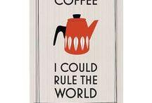 "Lifestyle and Coffee / ""Black as night, sweet as sin.""  ― Neil Gaiman, Anansi Boys"