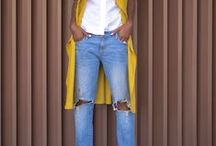 Ripped & Distressed Jeans / Denim reworked with heavy shredding and distressing matching our preferences