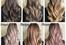 Moda, cabelo e maquiagem