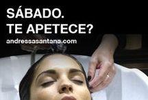 EXPERIENCIA ANDRESSA SANTANA / Nuestro modo de entender la peluquería, una experiencia sensorial y la plena satisfacción del cliente.