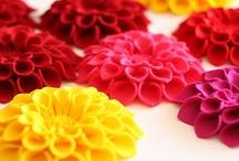 Felt Flowers - Vilt Bloemen