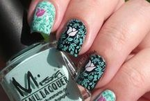 Sunday Stamping Challenge / International Sunday Stamping Nail Art Challenge from AIS Facebook Group