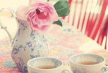 Teatime Linens & Bunting / Lovely table linens and decorative bunting for tea parties and teatime.