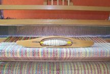 My hand woven crafts / Scarfs, rugs, bags, pillows, belts, fabric and everything what I can weave on small 4-harness  loom :)