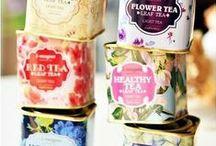 Tea Tins & Labels