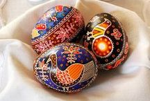 Pisanki, Traditional easter eggs