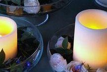 Le printemps / Créez une ambiance printanière avec des bougies led !