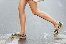 Flats this summer? / We love heels but it's flats we reach for on warm summer days. Don't you agree?
