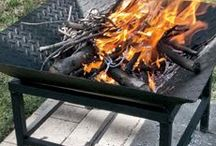 Fall is warming up / DIY metal fire pit designs.