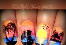 StyleThoseNails-Nailart done in 2015 / All designs by StyleThoseNails please click on website link for further details. If you use my work link it back to my social media http://stylethosenails.blogspot.com/