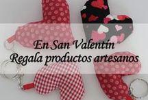 En San Valentín Regala productos artesanos / Obsequia en San Valentín a quien tanto quieres con esta selección de regalos hechos a mano que hemos preparado para tí.