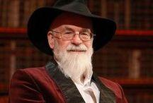 Terry Pratchett / Terry Pratchett, die Scheibenwelt, Rincewind, träges Sonnenlicht, den TOD, Wetterwachs
