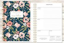 personalized planners - choose your start month