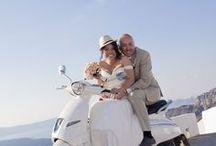 Nina & John - October Wedding in Santorini