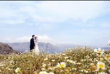 Kazia & Will / Post-Wedding Photo Shoot in Santorini