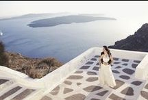 Post Wedding Photo Shoot in Imerovigli / Santorini Wedding Photography