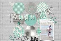 Scrapbook ALBUM PAGES