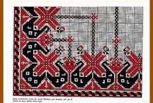 Cross stitch - Tableclothes patterns