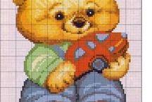 Cross stitch - Baby & Children patterns