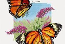 Cross stitch - Butterfly patterns