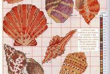 Cross stitch -  Beach & sea patterns