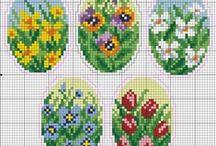 Cross stitch - Easter patterns