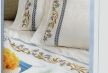 Cross stitch - Bed sheets & Pillow cases