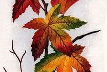 Embroidery - Leaves