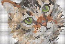 Cross stitch - Animal patterns