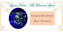 Inspirational Art Prints / Sylvia Korte - The Feminine Spirit, Inspirational Photo Art