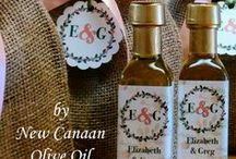 Favors made by New Canaan Olive Oil in CT / Unique wedding, shower, and party favors your guests will love whether you're from New Canaan, Fairfield County CT or anywhere in the US. Shop online or visit us at New Canaan Olive Oil, located in Fairfield County CT.