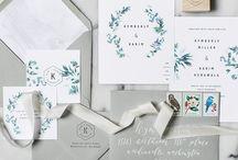 Wedding invitation / Svatební oznámení