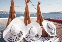 Pre-Wedding Cruise with Sky Naite / Sky Naite and Adam's Pre-Wedding Cruise in Santorini